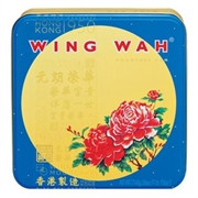 WING WAH White Lotus Seed Paste Moon Cake (2 Yolks)4pcs