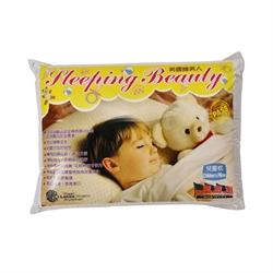 睡美人小童乳膠枕頭