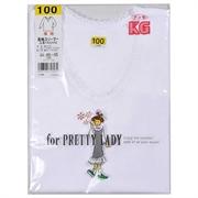 Gunze girl's 100% cotton round neck long sleeve tee TA22050-22080 (Made in Japan)