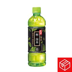 道地極品解綠茶500毫升x24(1箱)