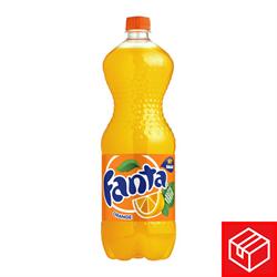 芬達橙味汽水膠樽裝500毫升x24(1箱)