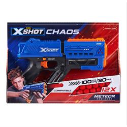 X-Shot 6發連射玩具槍 (12枚圓球子彈) ZU00249